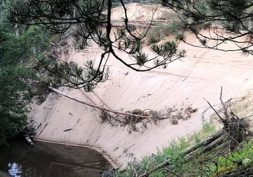 Лето, ах лето: Белая дюна Пурциема – первое поселение каменного века