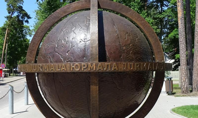 Центр Юрмалы - эпицентр летнего сезона