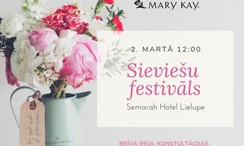 Расцвети на Женском фестивале вместе с Mary Kay!