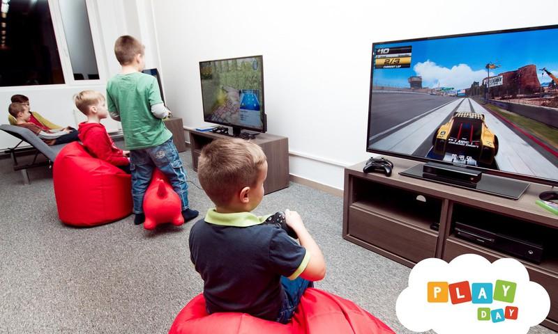 Куда отвести ребёнка в дождливый день? Приходите в PlayDay!