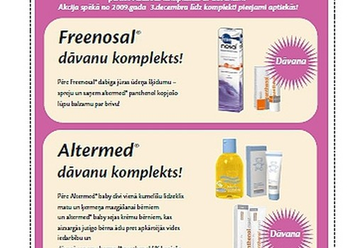 Первое впечатление от продукции altermed®: ммм… приятно!