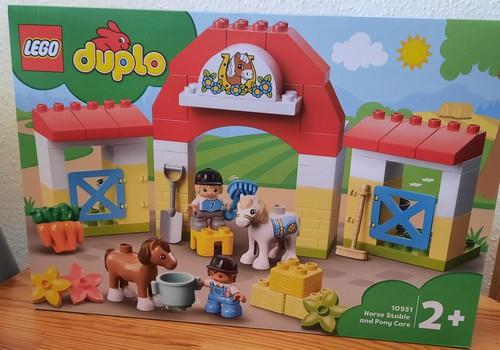 LEGO® DUPLO® - «Конюшня для лошади и пони»