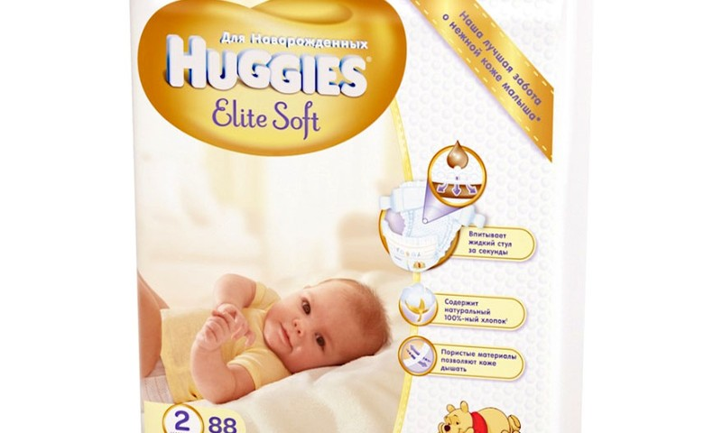 Скидки на Huggies Elite Soft и Huggies Pants