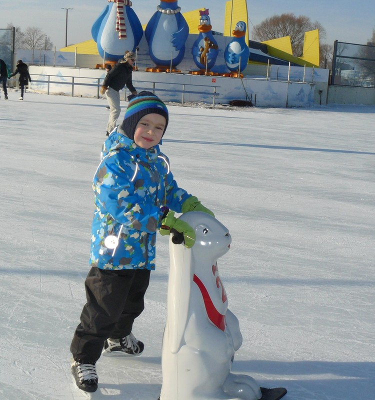 Наши зимниe забавы