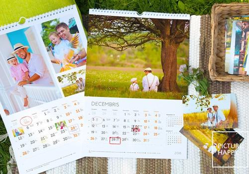 Увековечить любовь в календаре
