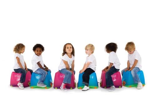 С каким чемоданом путешествует ваш ребенок?