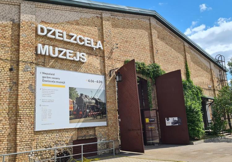 Латвийские каникулы: Железнодорожный музей