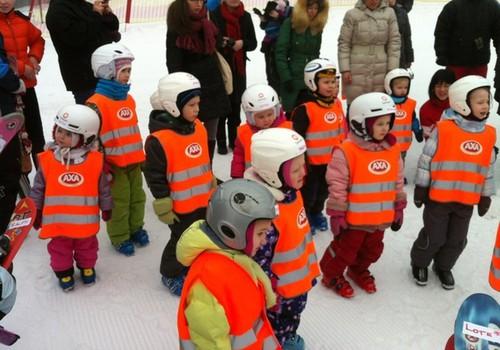 Как мы в лыжной школе АХА побывали