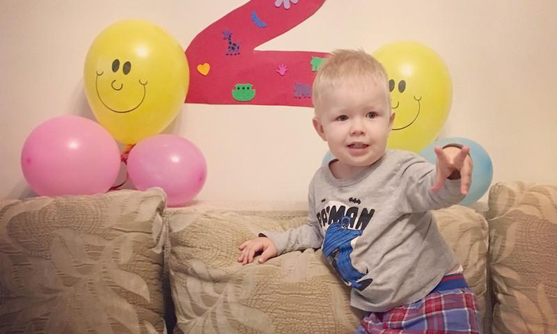 С днем рожденья, Итан!