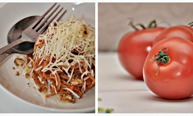 Быстрая паста с песто из вяленых томатов и грецких орехов