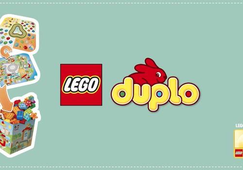 Играй, учись и храни со своим игровым ковриком LEGO® DUPLO®