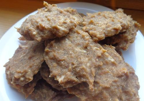 Гречневое печенье с яблоком