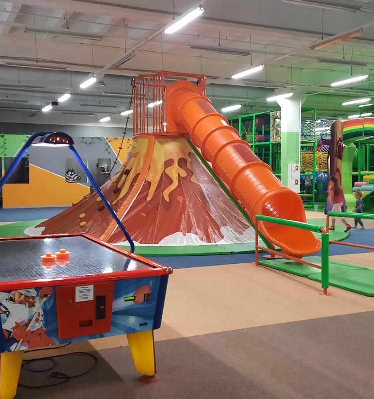"""Парк аттракционов """"Fun Park"""" в Иманте"""