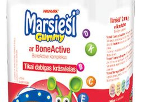 КОНКУРС: Выиграй витамины Marsieši® Gummy с BoneActive для своего активного малыша!