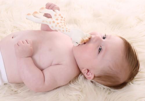 Первая игрушка малыша - жираф Софи