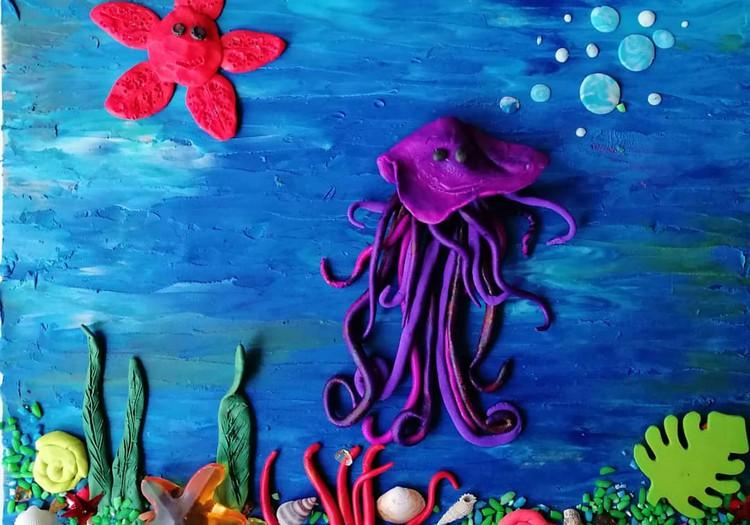 Дома с мамой: подводный мир