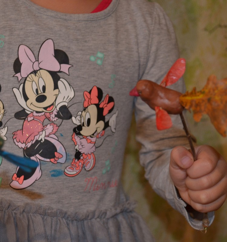 Осенние поделки: Наш кукольный театр