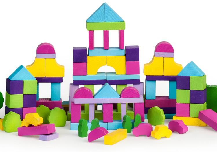ЛЕНА: Наши кубики и конструкторы