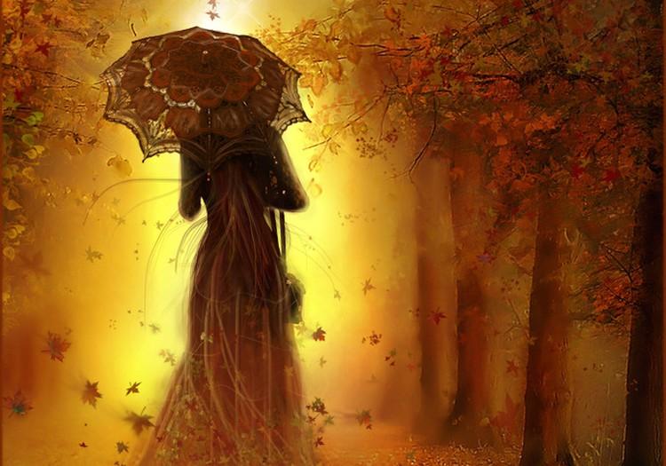 Странные люди.. Осенняя сказка