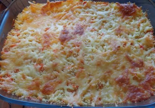 Запеканка из кус-куса и овощей