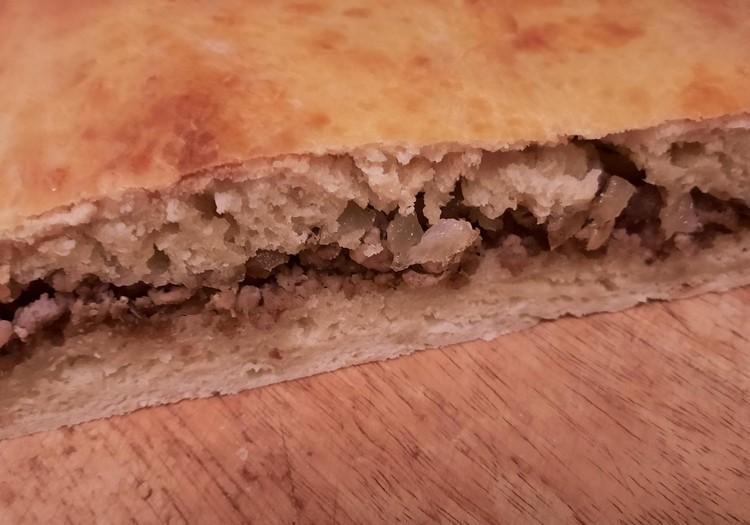 Мясной домашний пирог