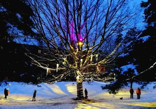 Зимние бродилки: Рижские световые инсталляции – мой рейтинг