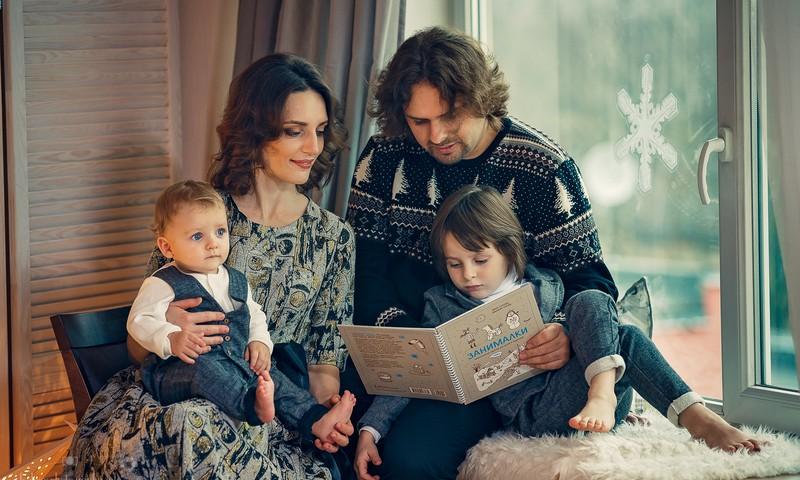 Рождественская фотосессия у Елены Чуйков. А вы верите в знаки?