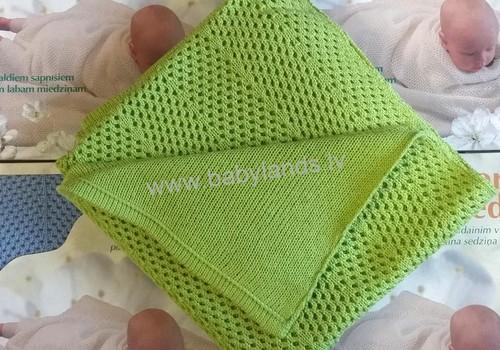 Одеяльце для новорожденного: сделано с теплом