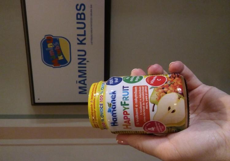 Фруктовые пюре Hamanek - очень полезые вкусняшки!