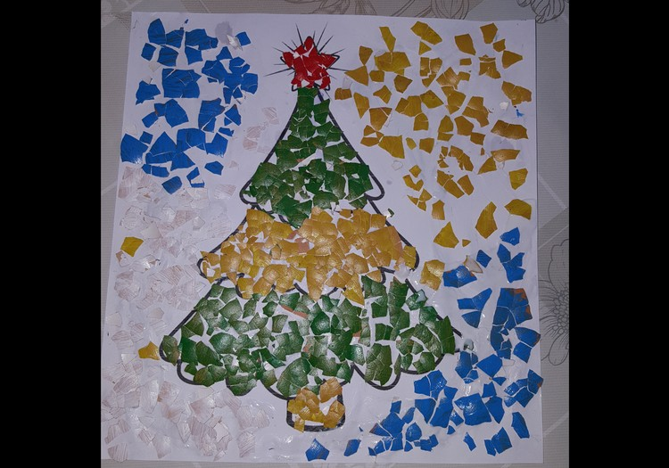 Мастер мозайки Эвелина: 3 неделя