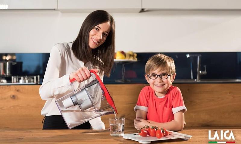 КОНКУРС: делитесь полезными привычками вашей семьи и выиграйте водный фильтр LAICA!