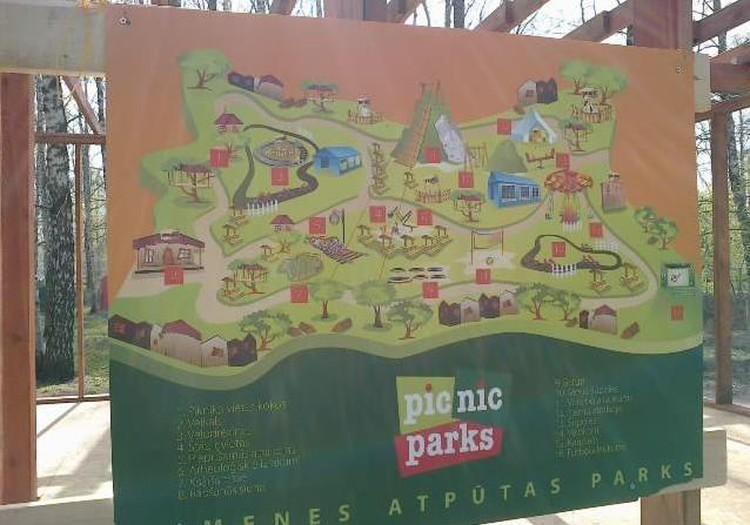 Открылся парк отдыха для всей семьи PICNIC