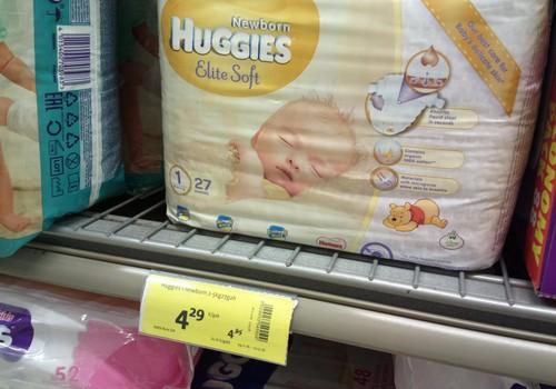 Huggies Elite Soft для самых маленьких
