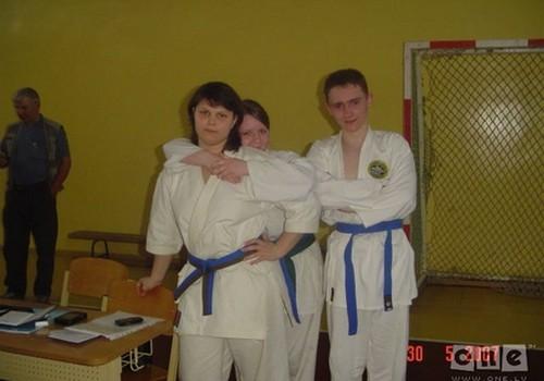 Молодая мама Катя - чемпионка Латвии по карате