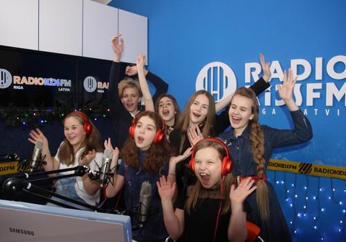 МК - 8 ЛЕТ: Привет от Radio KidsFM RIGA!