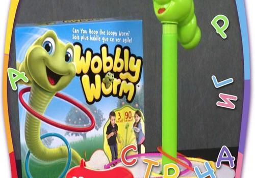 Необычная игрушка: Танцующий червячок
