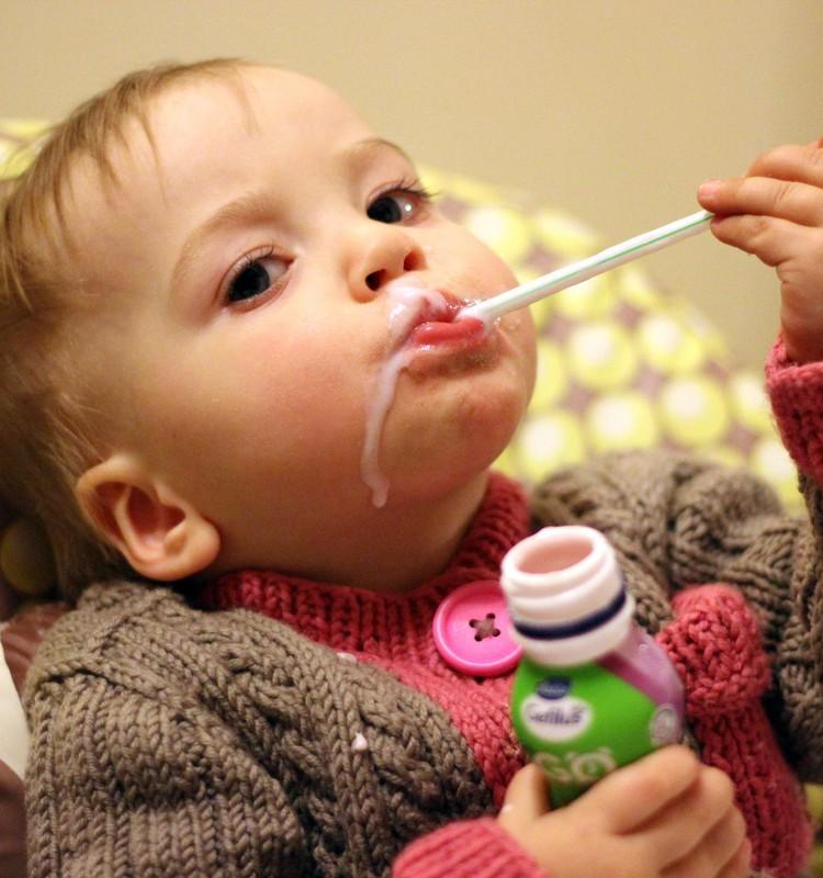Питьевые йогурты и кефирчики Gefilus с витамином D