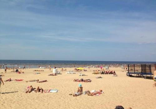 Пляжи в Даугавгриве и Вецаки безопасны для купания!