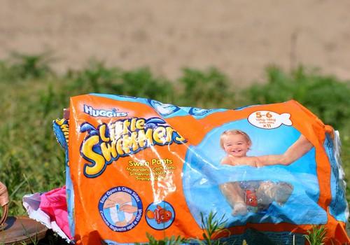 Купаемся тут, купаемся там с Huggies@ Little Swimmers