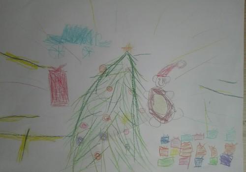 "На конкурс InShop.lv ""Новогоднее чудо"""