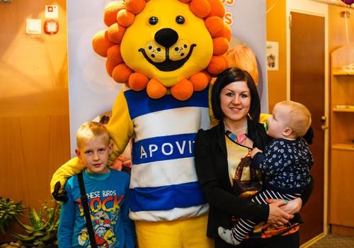 ФОТО: О здоровье на пароме заботился львёнок APOVIT! А Твой ребёнок любит рыбий жир?