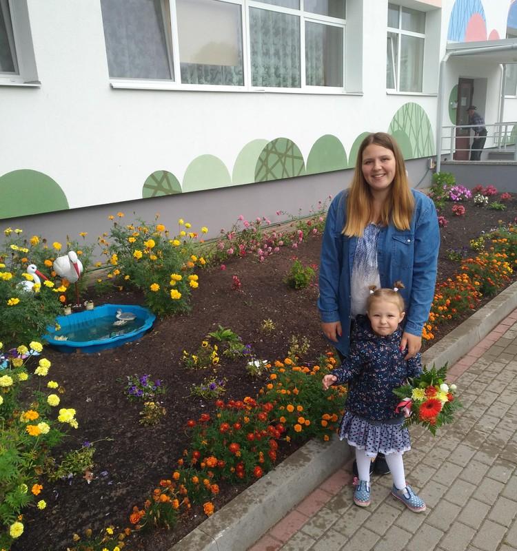 Даша: каникулы и детский сад
