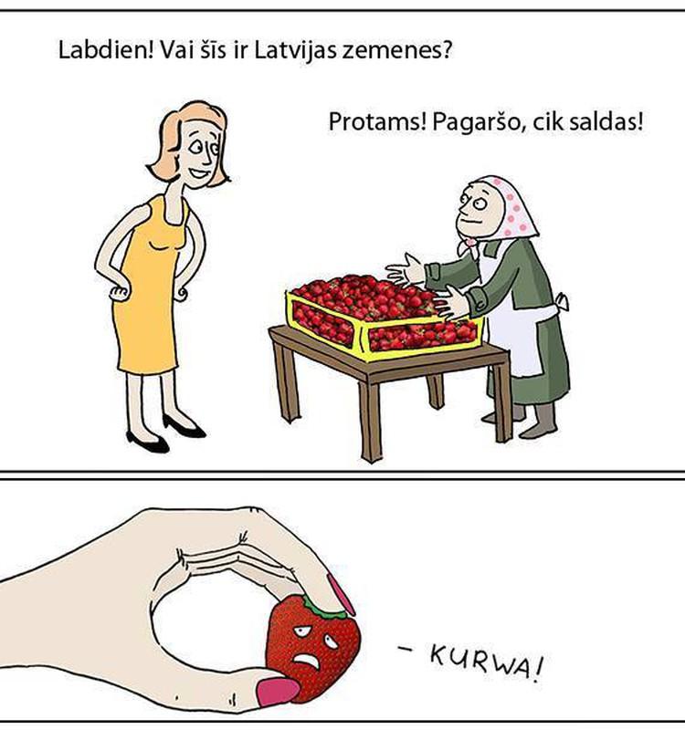 """""""Стройнеем"""" с клубникой"""