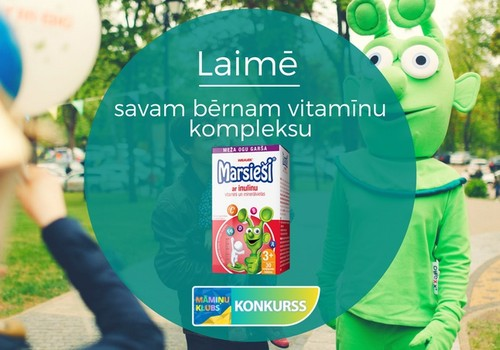 КОНКУРС: выиграй витамины Marsieši® с инулином для малыша!