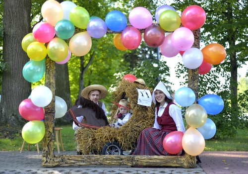 3 августа в Резекне юбилейный Парад колясок! Ждем ваши заявки!