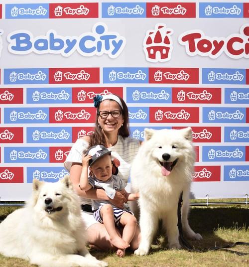 Фоторепортаж с фотостены Baby sity Toy sity 2 июня