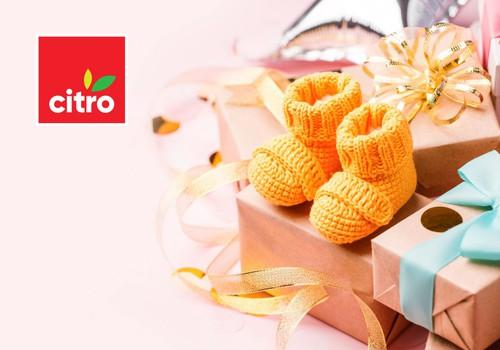В свой юбилей «CITRO» поздравляет молодые семьи Латвии и дарит подарки!