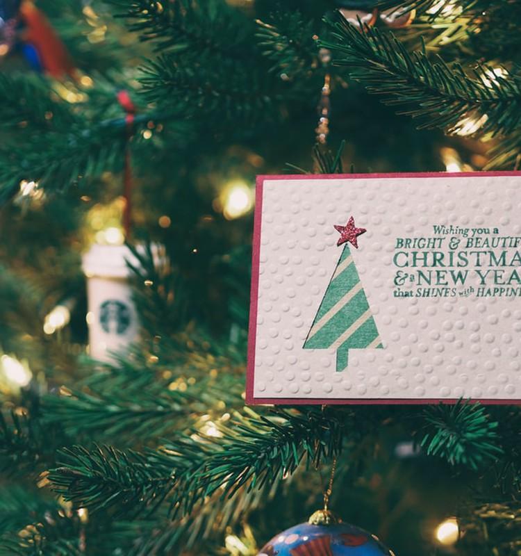 Делаем незабываемые рождественские и новогодние открытки