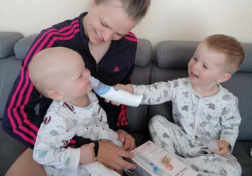 Насморк у малыша: помощь без забот