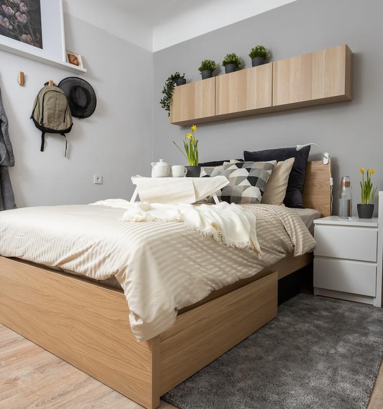 Советы, как недорого обновить спальню